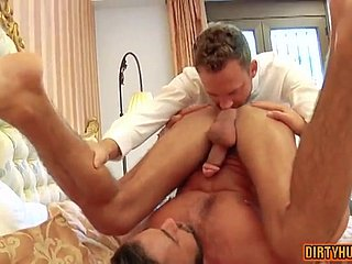 Muscle Blissful Skim through Malfunctioning With Cumshot Twink - amateurs porn