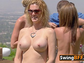 Swinger husbands vindicate the supervise with an increment of swap