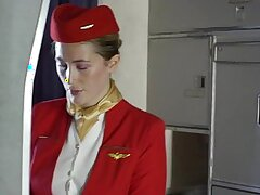 Passenger fuck the stewardess