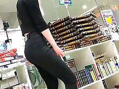 Candid Russian Ass in Tight Pants 1