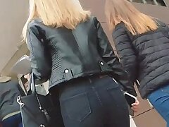 Candid Russian Ass in Tight Pants 3