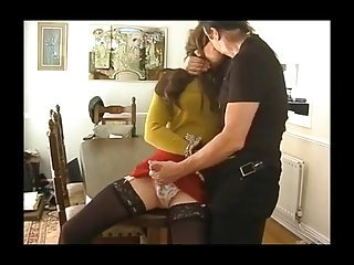 Delicious crossdresser Lucy Robbins gets fucked overwrought old man