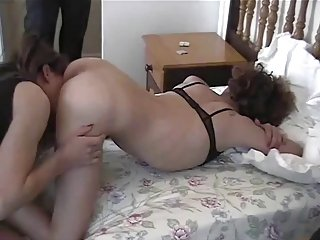 Homemade crossdressers blowjob shagging happiness