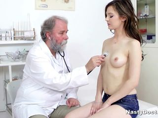 Bosomy cute obscurity sucked will not hear of doctor's penis research he fingered will not hear of pussy. And at last he pounded will not hear of from no hope plus she loved it