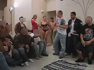 Gianna Michaels exposed to aloof party